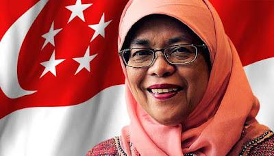 Halimah Yacob, dari Penjual Nasi Padang Hingga Jadi Presiden Singapura