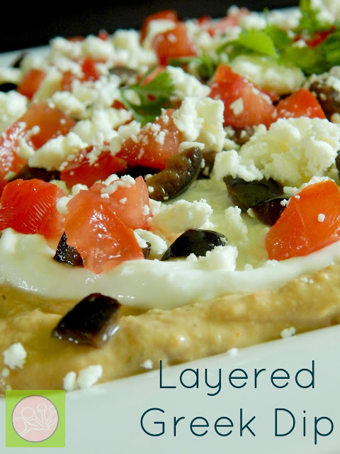 layered greek dip (sweetandsavoryfood.com)