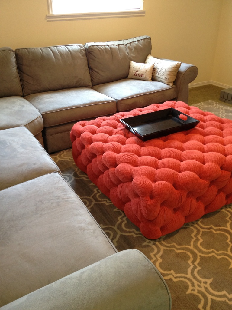 Life frosting my home upholstered ottoman - What is an ottoman ...