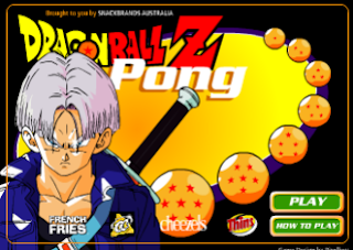 لعبة Dragon Ball Z Pong