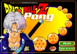 لعبة Dragon Ball Z Pong  : العاب دراغون بول