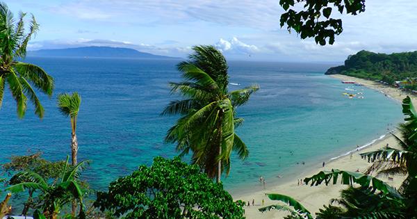 Puerto Galera in Mindoro, Philippines