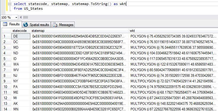 How to create GeoJson in SQL Server 2016   Hasan Savran