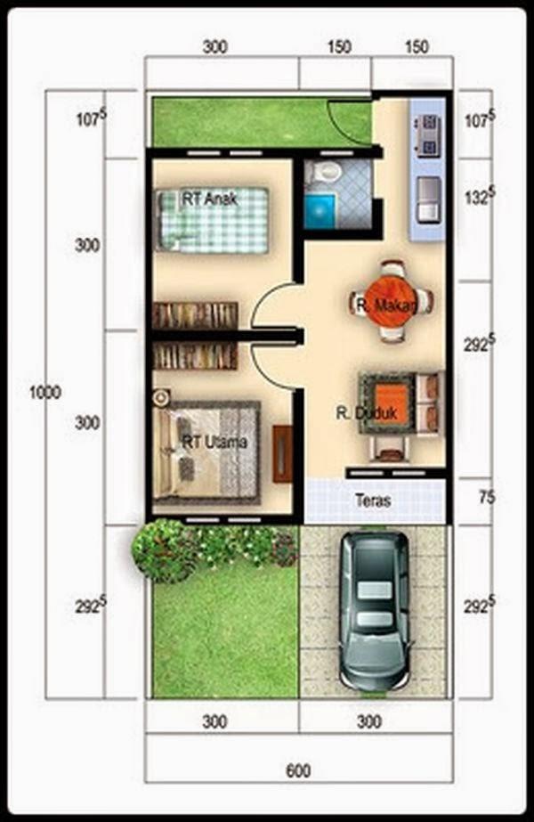 interior rumah type 31 minimalis 3