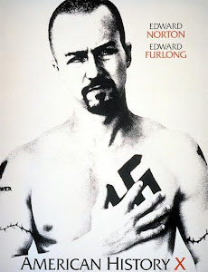 Poster Of Hollywood Film American History X (1998) In 300MB Compressed Size PC Movie Free Download At worldfree4u.com