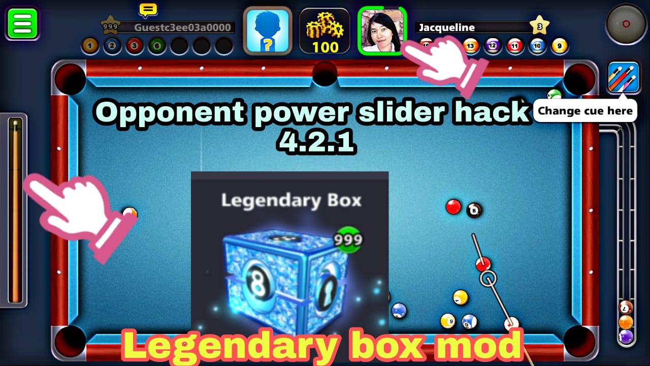 8 ball pool 4 2 1 legendary box hack