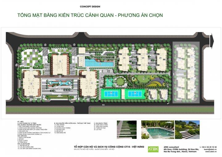 Tiện ích nội khu Việt Hưng Green Park