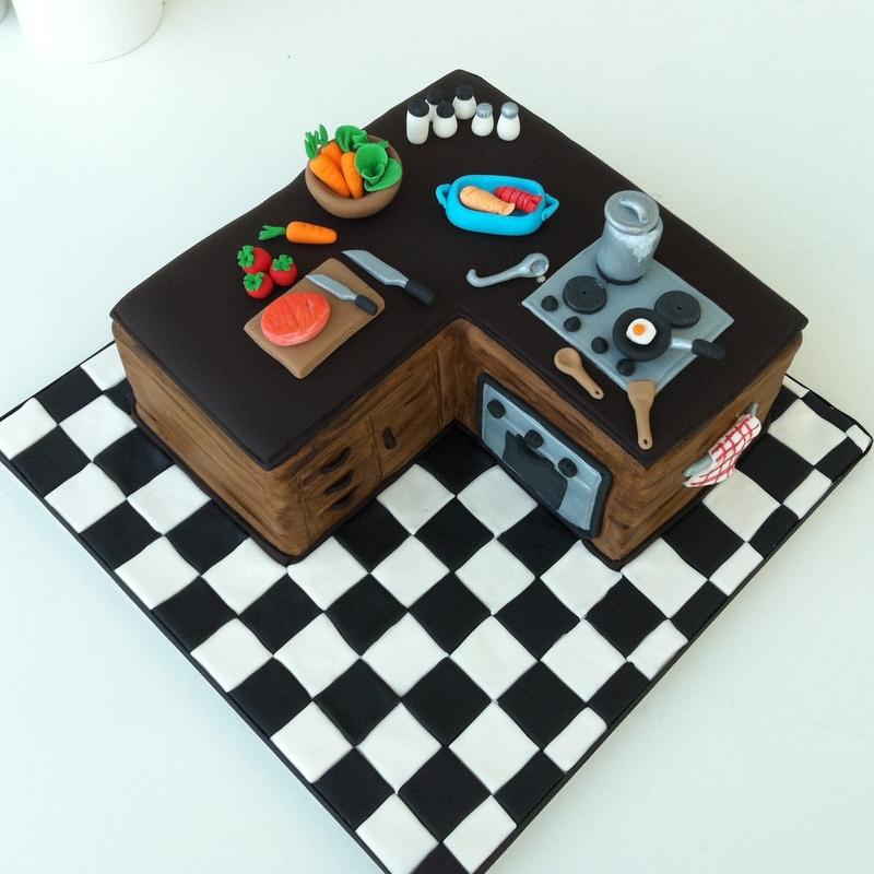 Tearoom By Bel Jee A Kitchen Cake