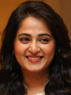 Hyderabadi Actress Anushka Shetty Oily Face Closeup Pictures (7)