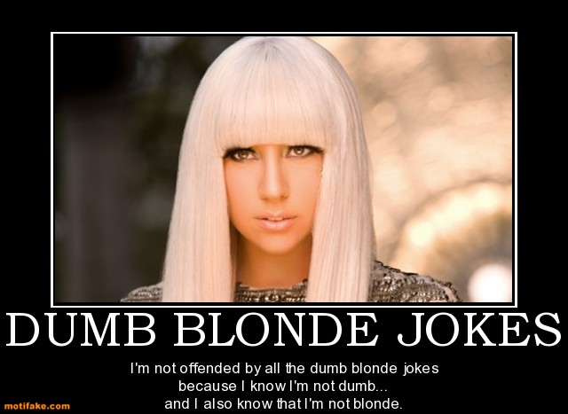 Blonde Joke Pictures 110