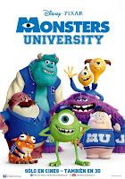 pelicula Monstruos University
