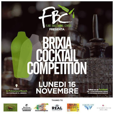 Brixia Cocktail Competition 16 Novembre Brescia