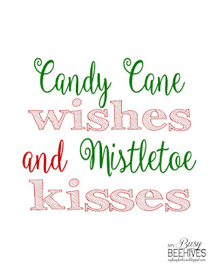 Christmas saying printable
