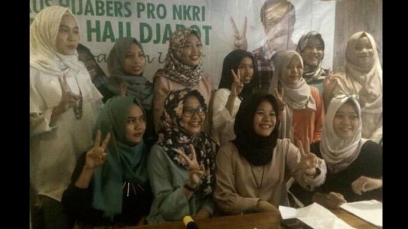 Kaukus Hijabers Pro NKRI dukung Haji Djarot