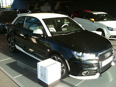 The World Of Automobiles Audi A1 Black And White Edition