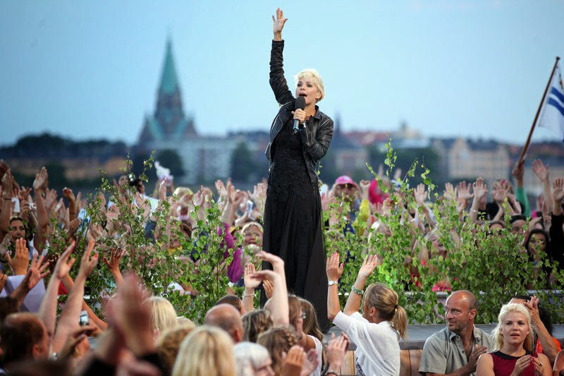 Petra Marklund en Skansen (Photo: Stella Pictures)