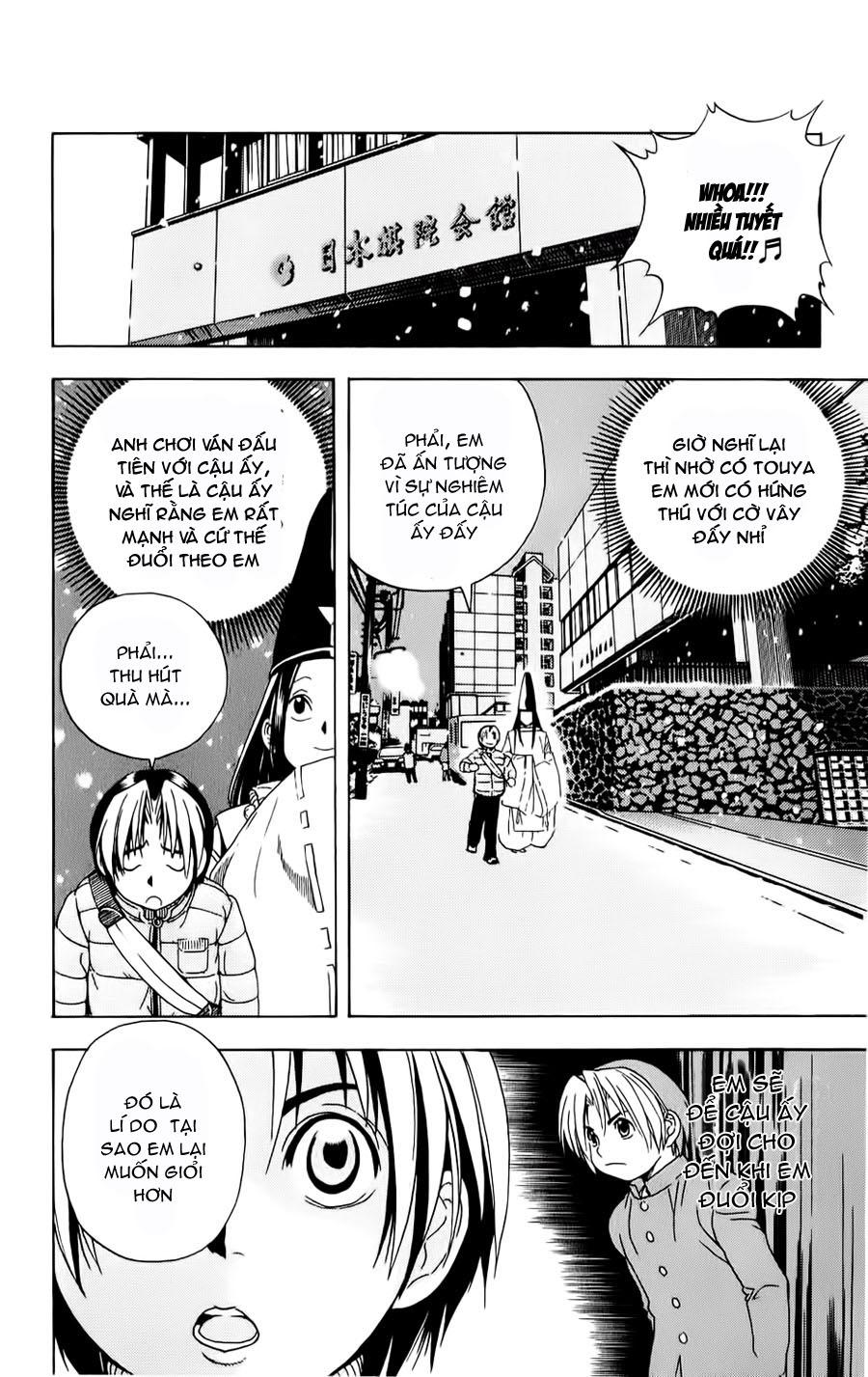 Hikaru No Go hikaru no go chap 50 trang 15