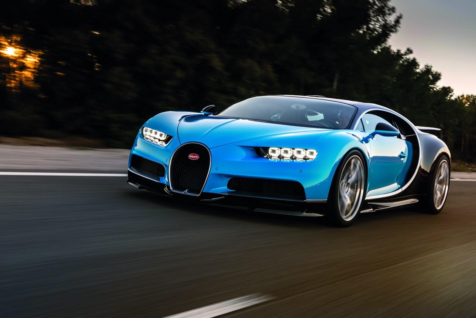 Chắc chắn Bugatti Chiron 2017 sẽ là siêu xe HOT nhất Geneva Motor Show 2016 năm nay