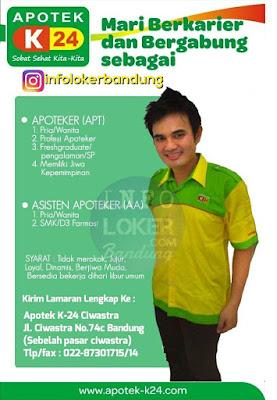 Lowongan Kerja Apoteker Bandung