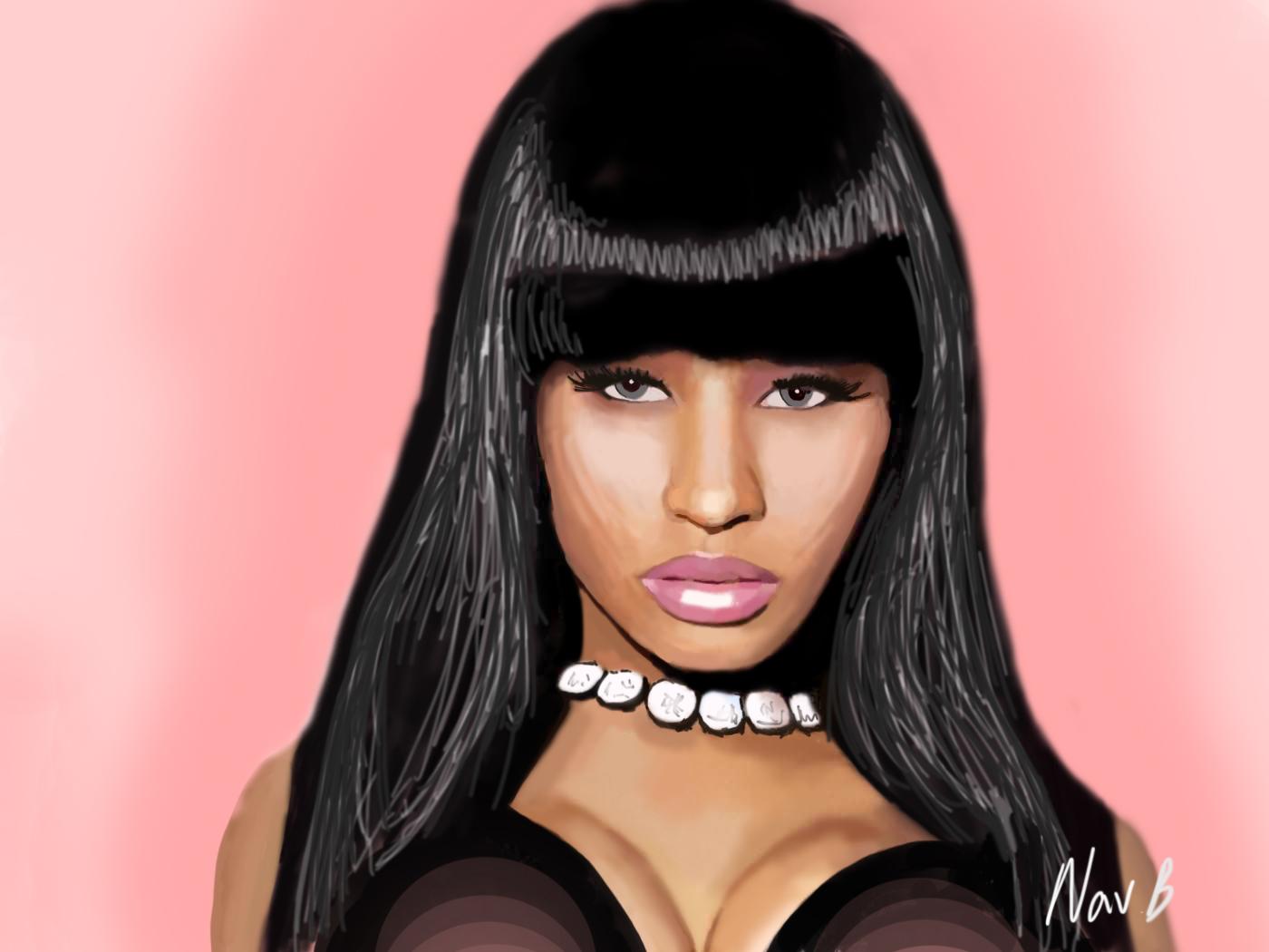 Nicki Minaj 7 Year Old  Nude Naked Pussy Slip Celebrity-7398