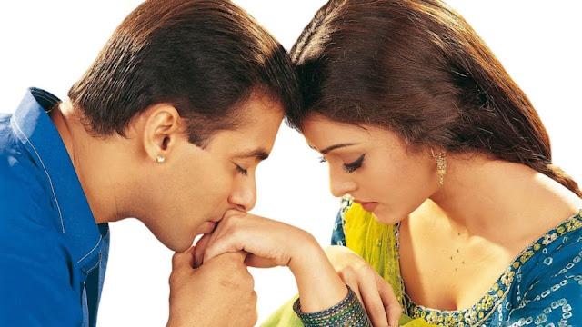Salman Khan Kissing Aishwarya Rai Bachchan