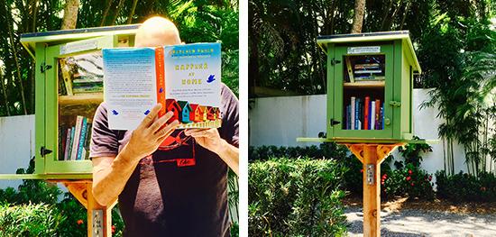 Summer reading little free libraries Library garden grove