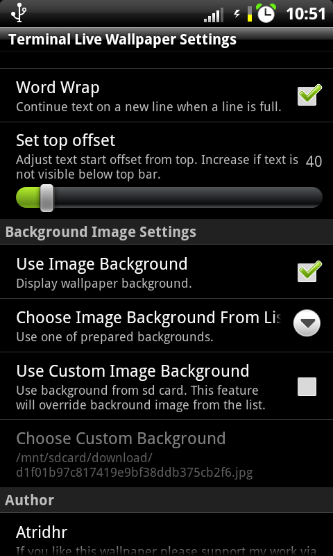 Atridhr Android Development How To Set Live Wallpaper On