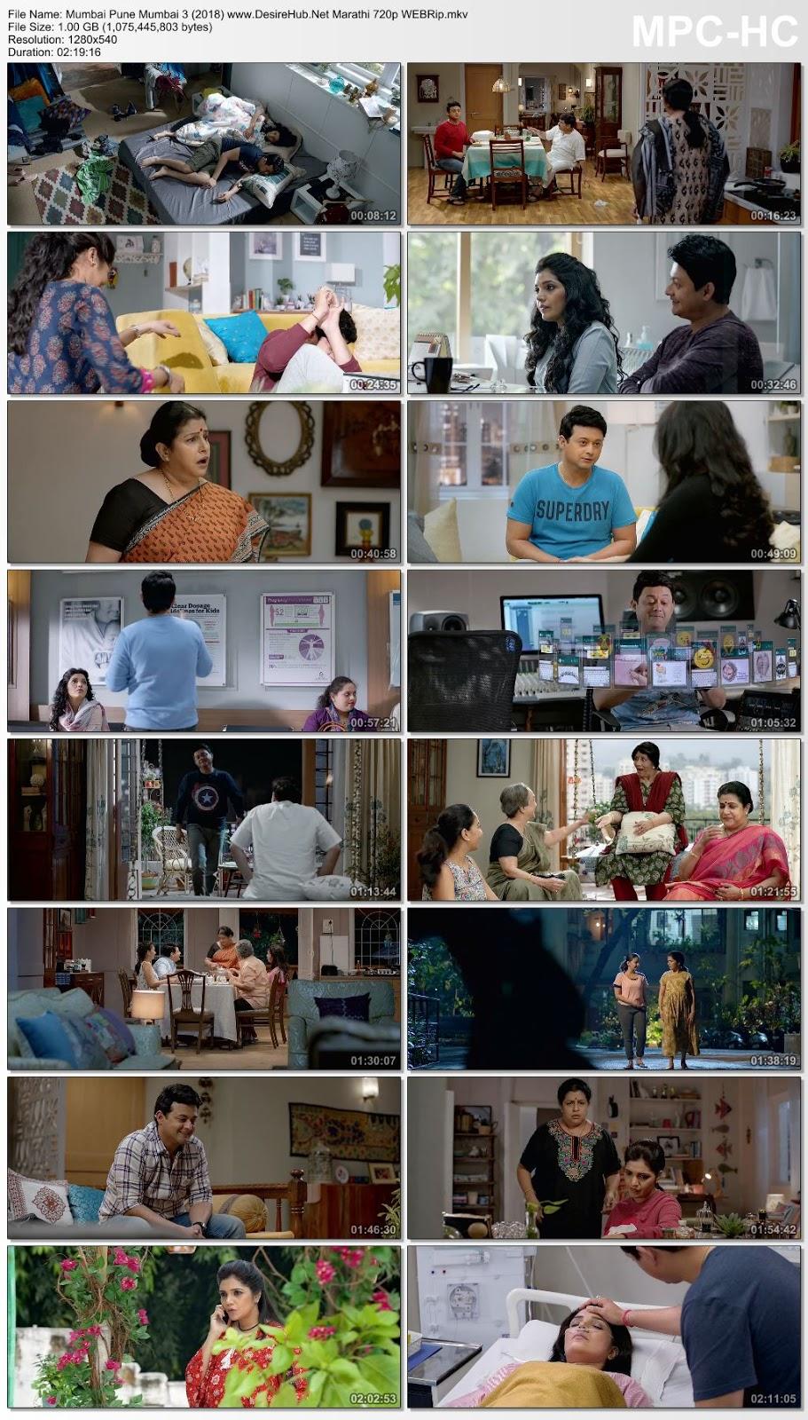 Mumbai Pune Mumbai 3 (2018) Marathi 720p WEBRip 1GB Desirehub