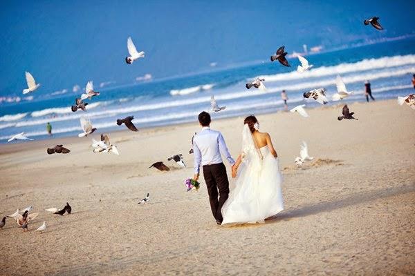 Chụp ảnh cưới ở Đà Nẵng, thiên đường Biển ngọt ngào