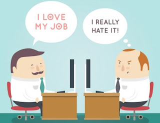 لاتكره عملك مهما كان