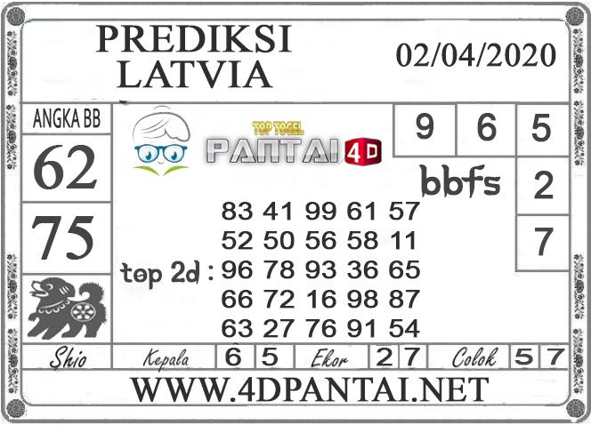 PREDIKSI TOGEL LATVIA PANTAI4D 02 APRIL 2020
