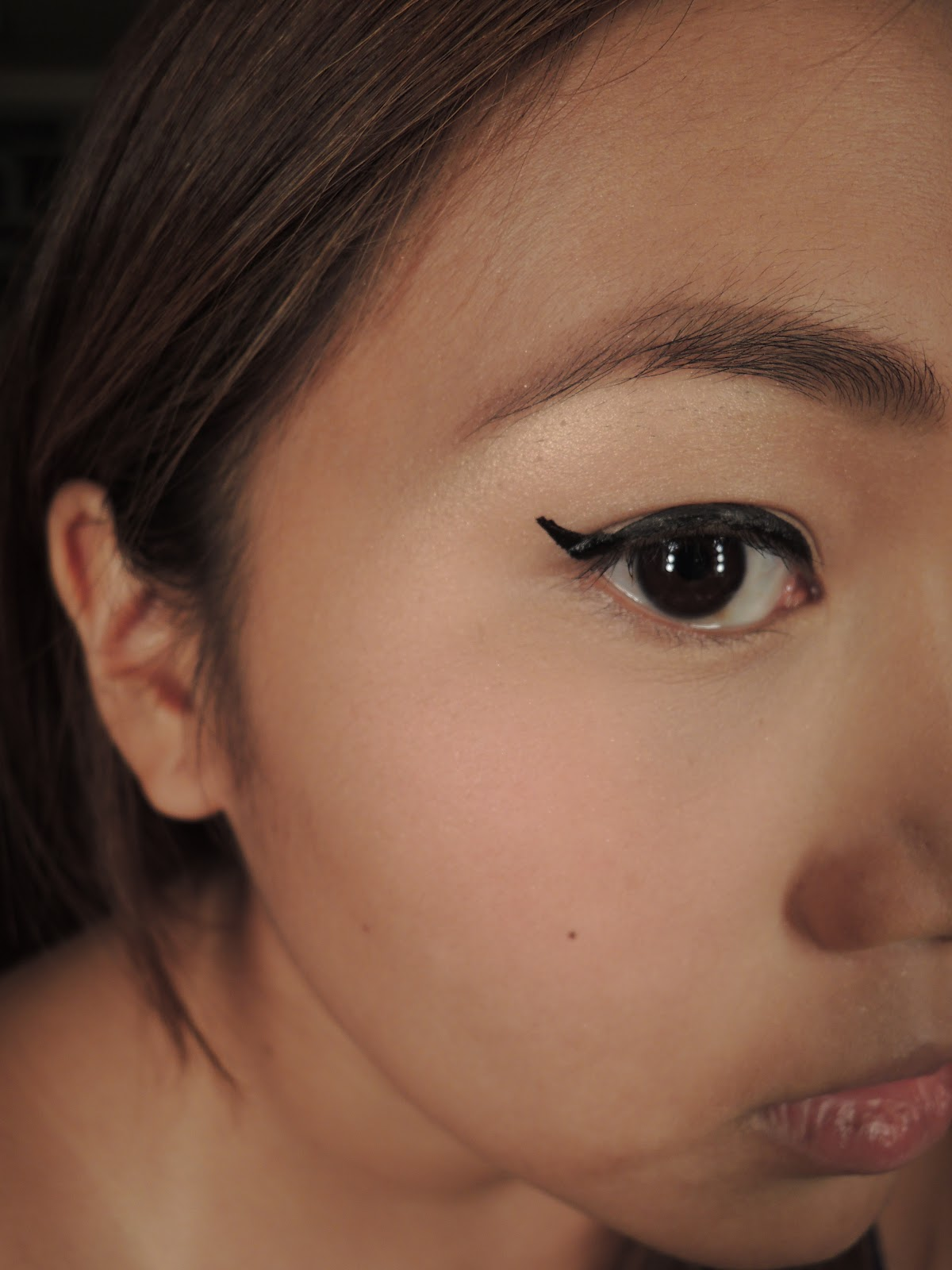 Winged Eyeliner Tutorial Step By Step: Make Up By Gex Garcia: HOW TO: Winged Eyeliner With L