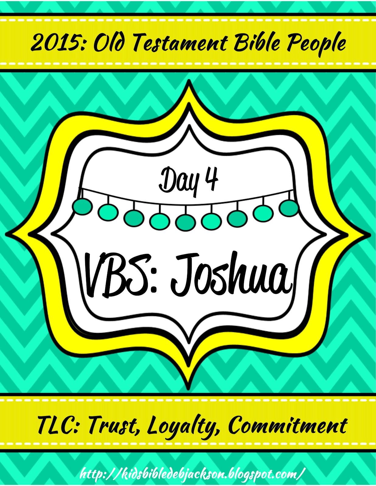 Bible Fun For Kids Tlc Vbs Day 4 Joshua Amp The Walls Of Jericho