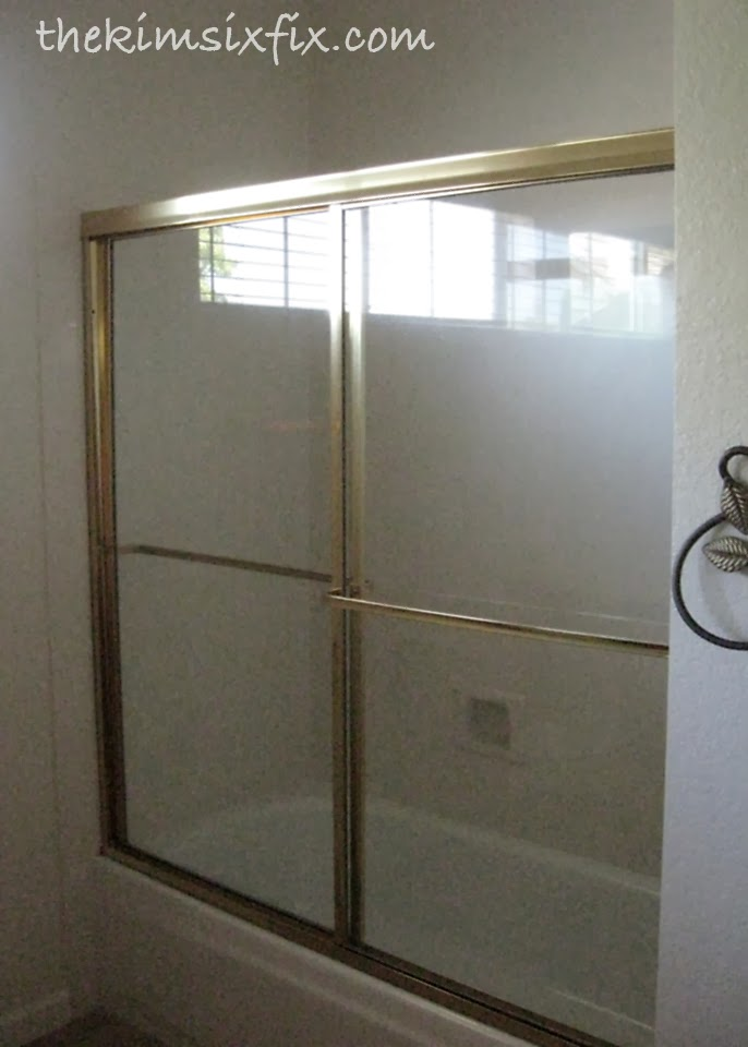 Removing Sliding Glass Shower Doors (Flashback Friday) - The Kim Six Fix