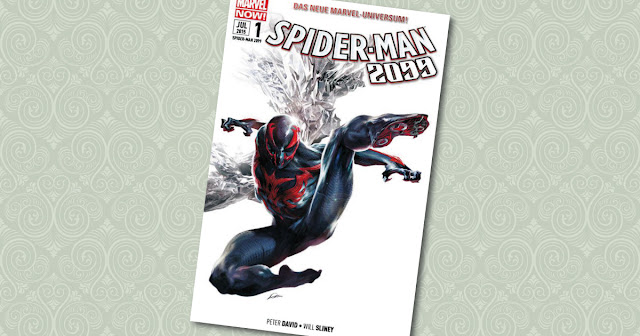 Spider-Man 2099 Panini Cover