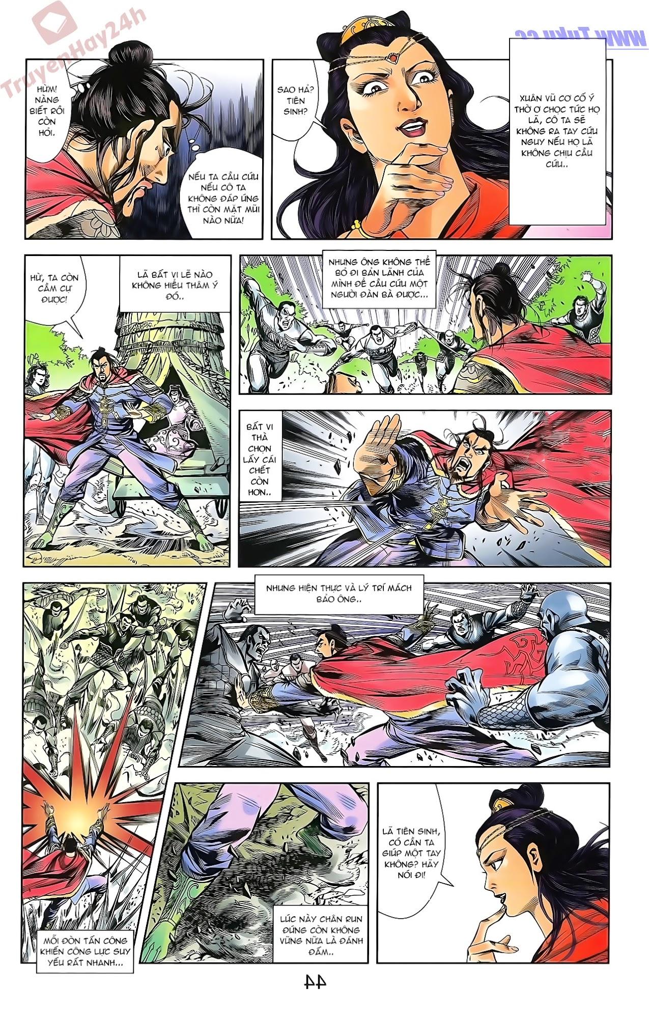 Tần Vương Doanh Chính chapter 46 trang 10