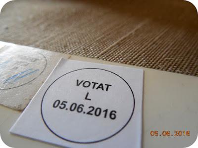 Am votat, ceea ce va doresc si voua