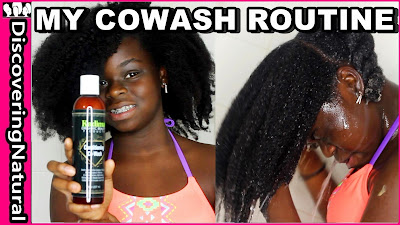 How to Cowash Natural Hair using Kadima Conditioner Cowash | Busy Teen