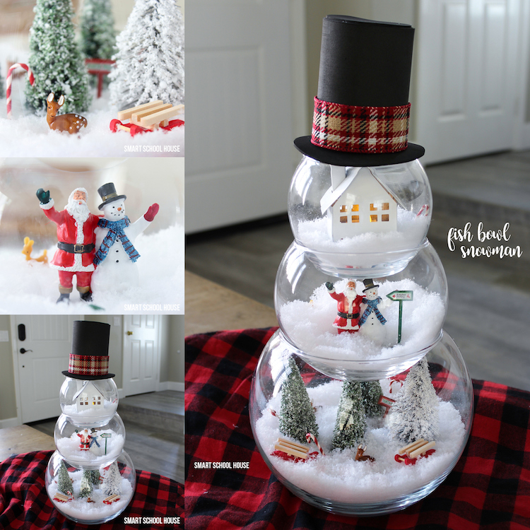 Watch How Fun It Is To Make A Fish Bowl Snowman