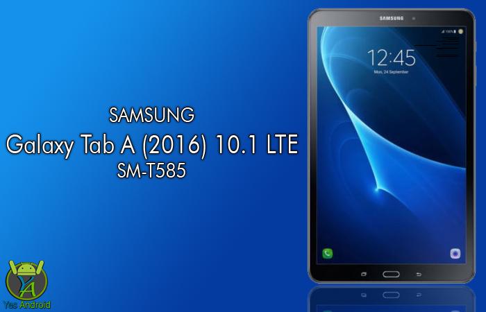 T585XXU2AQA2 | Galaxy Tab A 10.1 2016 SM-T585