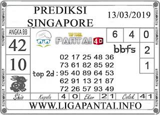 """Prediksi Togel """"SINGAPORE"""" PANTAI4D 13 MARET 2019"""