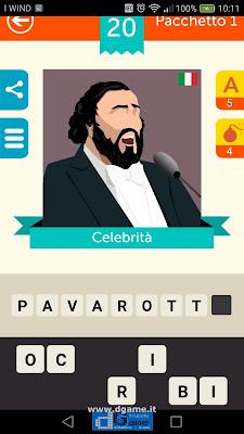 Iconica Italia Pop Logo Quiz soluzione pacchetto 1 livelli 20-25
