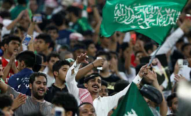 SAUDI ARABIA ENTERED IN FIFA2018 WORLD CUP IN RUSSIA