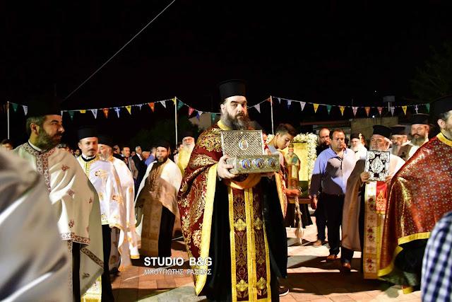 Αργολίδα: O Μητροπολίτης Ιλίου Αθηναγόρας στην εορτή του Αγίου Αθανασίου στο Μαλαντρένι (βίντεο)