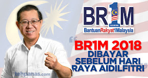 Thumbnail image for BR1M 2018 Dibayar Sebelum Hari Raya Aidilfitri
