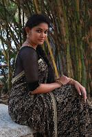 Tamil Actress Sri Priyanka Pos in Saree at Pichuva Kaththi Tamil Movie Audio Launch  0012.JPG
