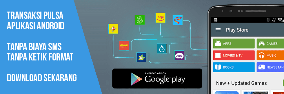 Aplikasi Android Topindo Untuk Jualan Pulsa Kuota Termurah