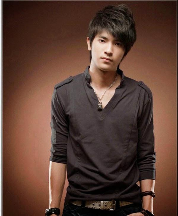 Model baju kemeja pria dewasa keren lengan panjang trend