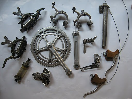Vintage Racing Bicycles: Where to find vintage bicycle parts