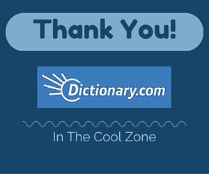 Thank you Dictionary.com!